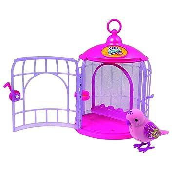 Amazon.es: Little Live Pets - Pajaritos parlanchines con su Jaula ...