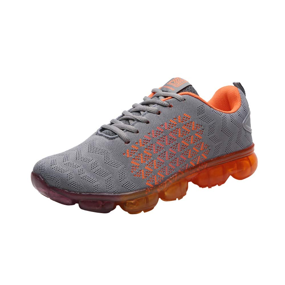 Inkach Womens Lace-Up Mesh Sneakers Lightweight Running Walking Sports Athletic Shoes