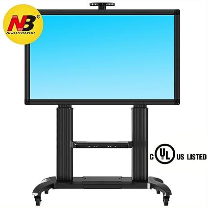 NB CF100 plateado - El soporte móvil de suelo para pantallas LCD, LED, Plasma