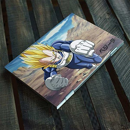 Skinit Dragon Ball Z Envy x360 15t (2018) Skin - Vegeta Power Punch Design - Ultra Thin, Lightweight Vinyl Decal Protection by Skinit (Image #3)