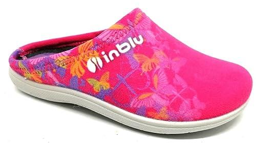 sito ufficiale vendita online designer nuovo e usato INBLU pantofole ciabatte invernali da bimba mod. B9-13 fuxia ...