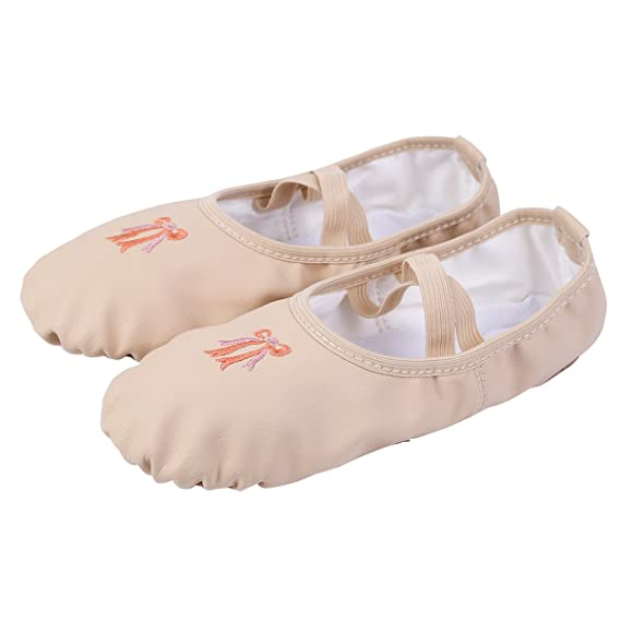 iEFiEL Zapatillas de Ballet Danza para Niña Zapatos Zapatillas de Bailarina Gimnasia Niña Ligero Plegable: Amazon.es: Ropa y accesorios