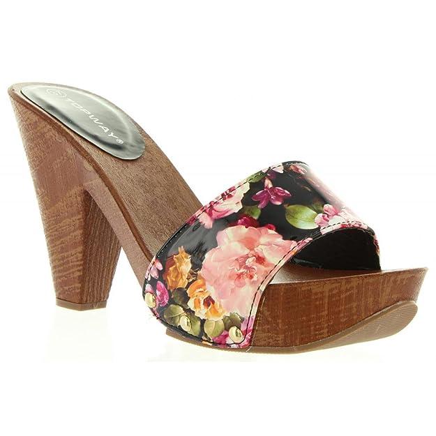 Schuhe ferse für Damen URBAN B732681-B7200 WHITE Schuhgröße 39 gstg3JX