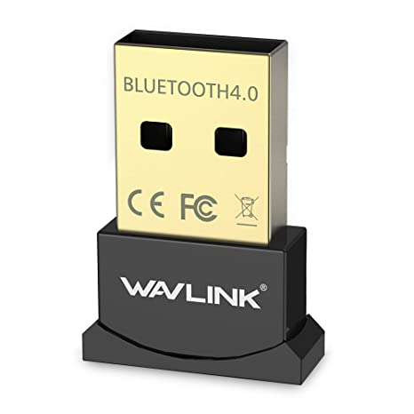 Wavlink Nano Size USB Bluetooth 4.0 Dongle Adapter for Windows 10 8.1 8 7 XP Vista   Plug and Play on Win 7 and above Bluetooth Adapters