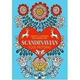 Scandinavian Folk Patterns Creative Coloring For Grown Ups