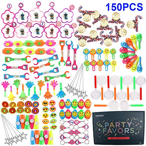 Amy & Benton 150 PCS Party Favors for Kids Birthday Goodie Bag Fillers Pinata Filler Toy Assortment for Classroom Rewards Prize Box -