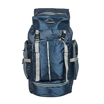 Indian Riders Lightweight Travel Hiking Rucksack Bag Navy Blue- 50 L   Amazon.in  Bags 002636940c7f8