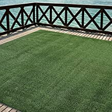 iCustomRug Outdoor Turf Rug in Green Artificial Grass In 12' X 4' And Many Other Sizes Available