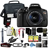 Canon EOS Rebel T6i 18MP Digital SLR Camera Retail Packaging Extreme Video Bundle (18-55mm IS STM)