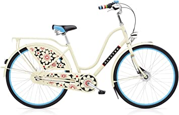 Bicicleta holandesa Electra Bike Amsterdam Fashion 3i ladies beige ...