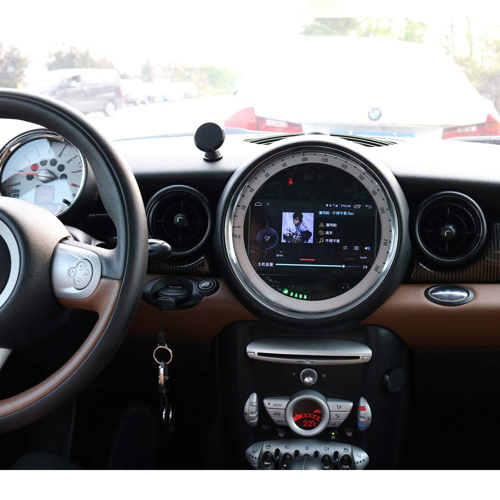 TOPNAVI Android 7 1 Car Radio for Mini Cooper S Clubman 2006 2007 2008 2009  2010 2011 2012 2013 Auto Stereo GPS WiFi 3G RDS Mirror Link FM AM