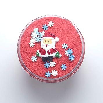 120 Ml Weihnachten Wolke Schleim Kinder Diy Fluffy Amazonde