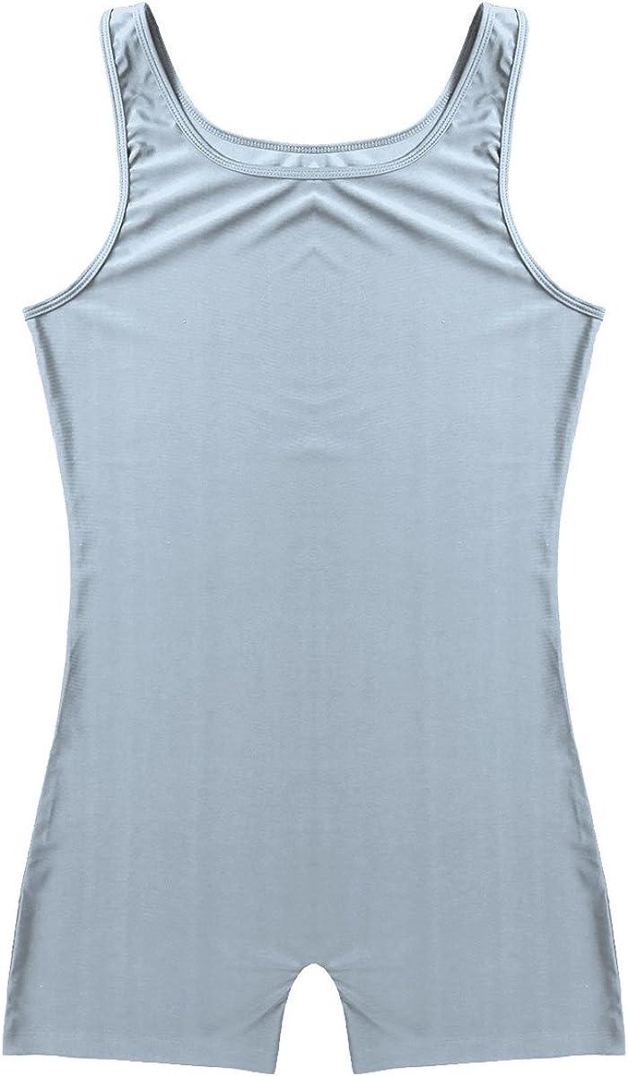 iiniim Men/'s One Piece Stretchy Bodywear Bodysuit Sleeveless Tights Leotard Underwear