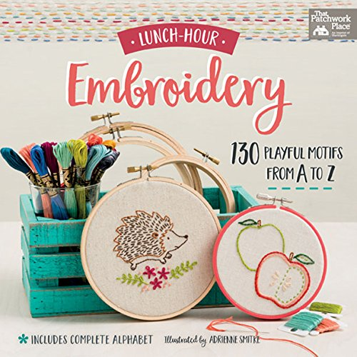 Animals Transfer Pattern - Lunch-Hour Embroidery: 130 Playful Motifs from A to Z