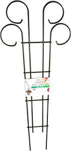 Bosmere L530 36-Inch Wire Scroll Trellis for Planters and Borders