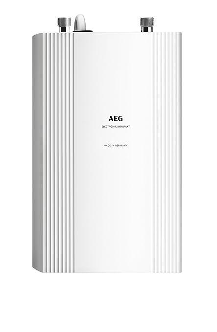 AEG DDLE Kompakt 11/13 Vertical Sin depósito (instantánea) Blanco - Hervidor de