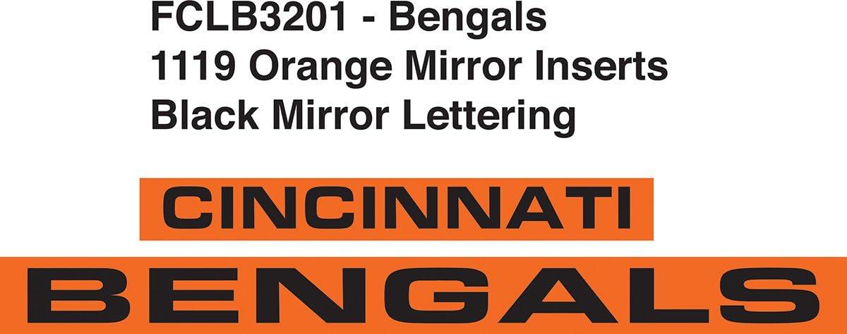 NFL Unisex-Adult NFL Laser Cut Inlaid Standard Chrome License Plate Frame