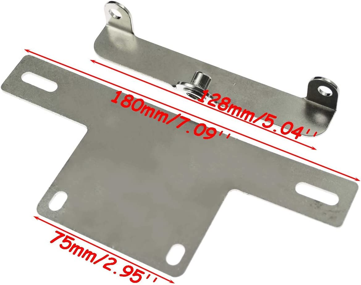Spoiler Anteriore Inferiore per Moto HAR-Ley Sportster Fatboy Softail Touring Glide Dyna FairOnly Handy Life