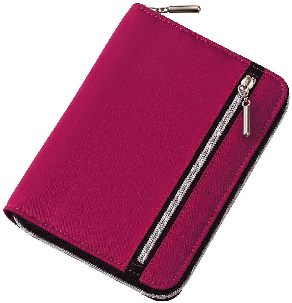 Raymay Multi-Use Covered Notebook - A6 - Pink CN142P