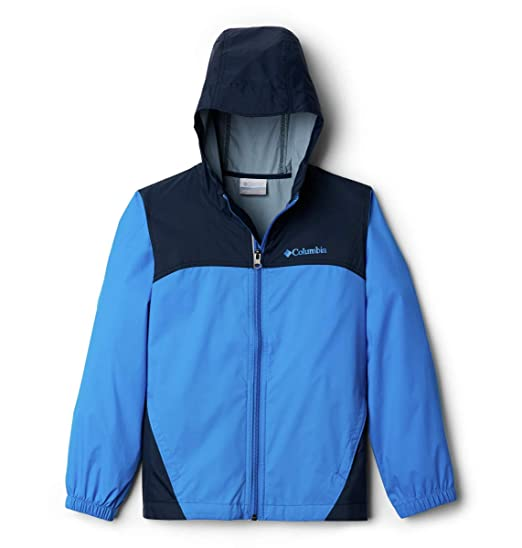 Columbia Big Boys' Glennaker Rain Jacket, Hyper Blue, Large