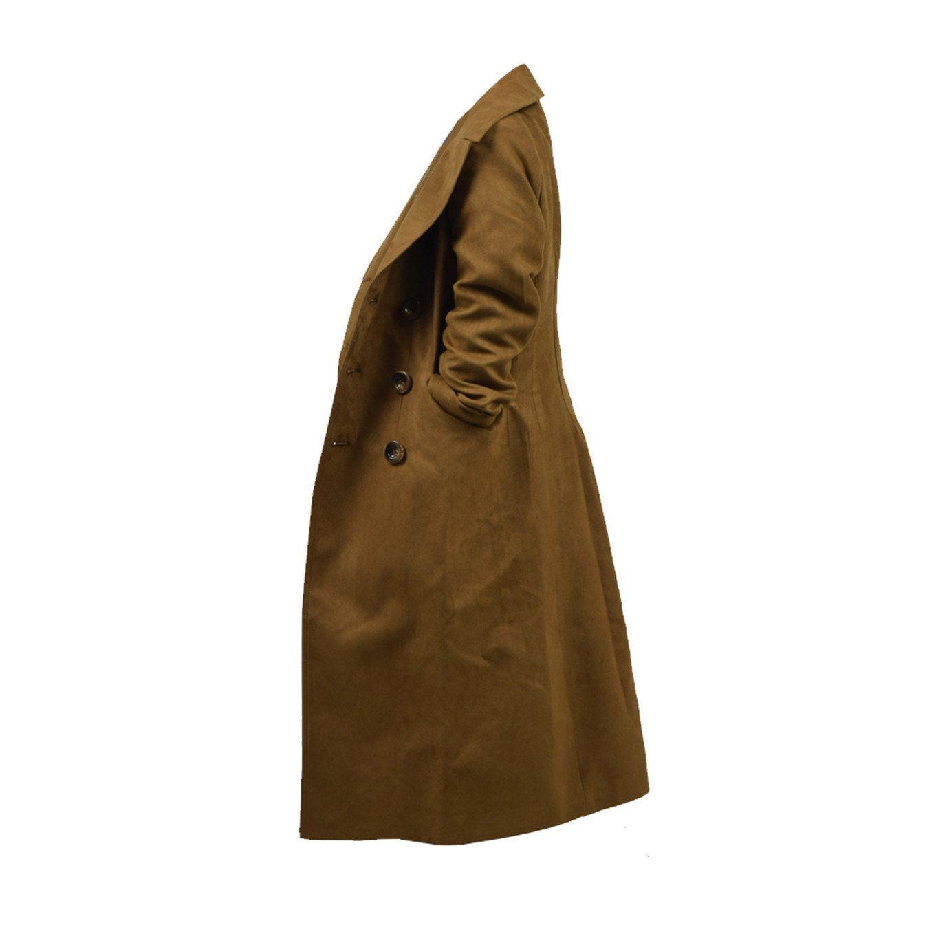 YANGGO Children's Party Halloween Outfit Cloak and Trench Coat Costume (X-Small, Brown Trench Coat) by YANGGO (Image #3)