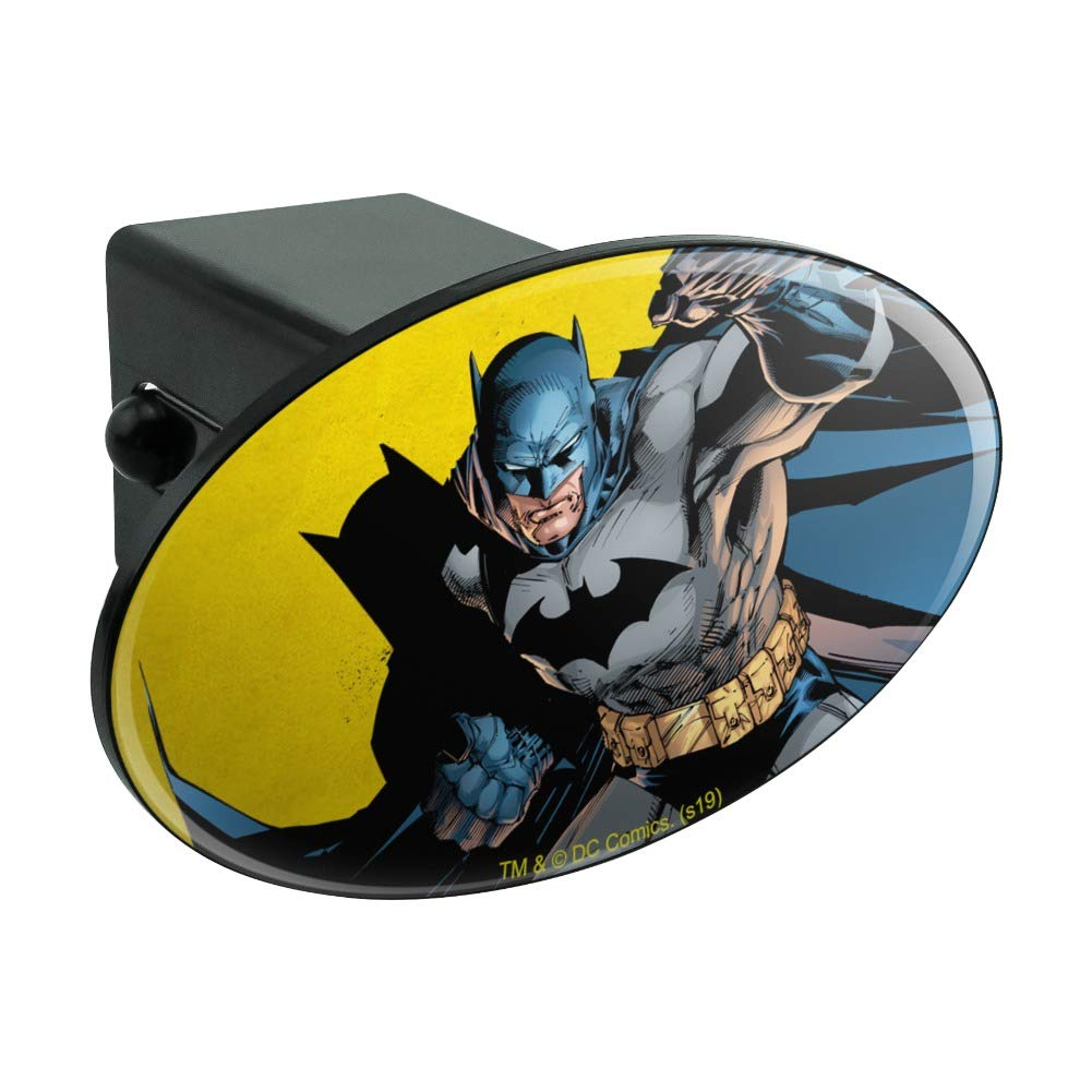 Graphics and More Batman Character Oval Tow Hitch Cover Trailer Plug Insert 2'' by Graphics and More