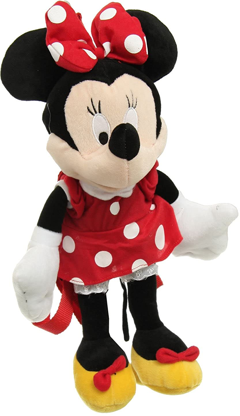 Disney Minnie Mouse Large Plush Doll Toy Backpack [Toy]   B004ARXQ3M