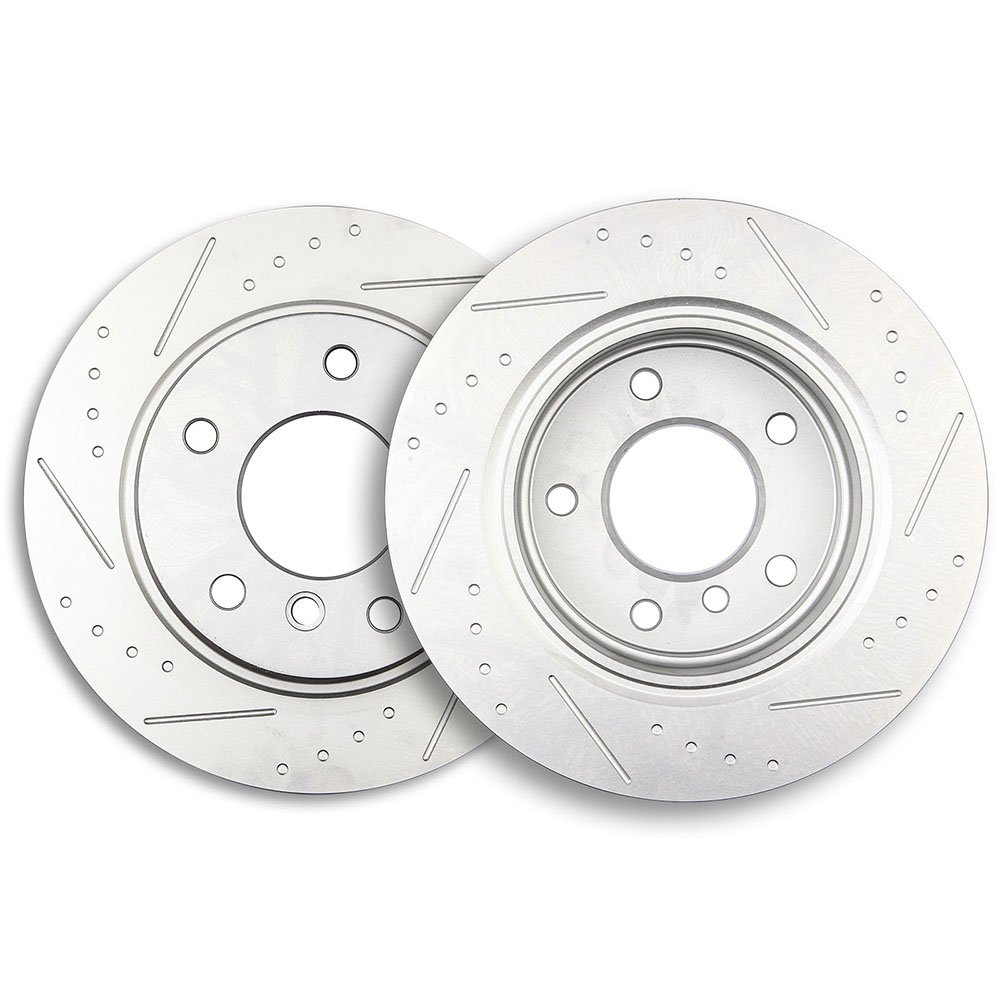 Front And Rear OE Brake Rotors /& Ceramic Pads For 325i 318i 318is 328i