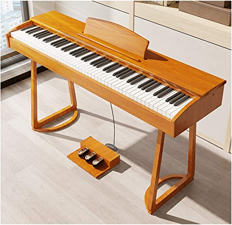 yankai Teclado Piano Eléctrico 88 Teclas con Bluetooth, Piano ...