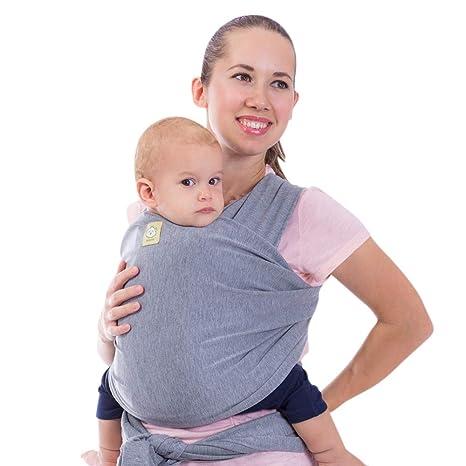 KeaBabies – Carro de bebé – 2 colores – todo en 1 bebé Sling – bebé recién nacido envolturas – portabebés – bebés envoltorio elástico para bebés – ...