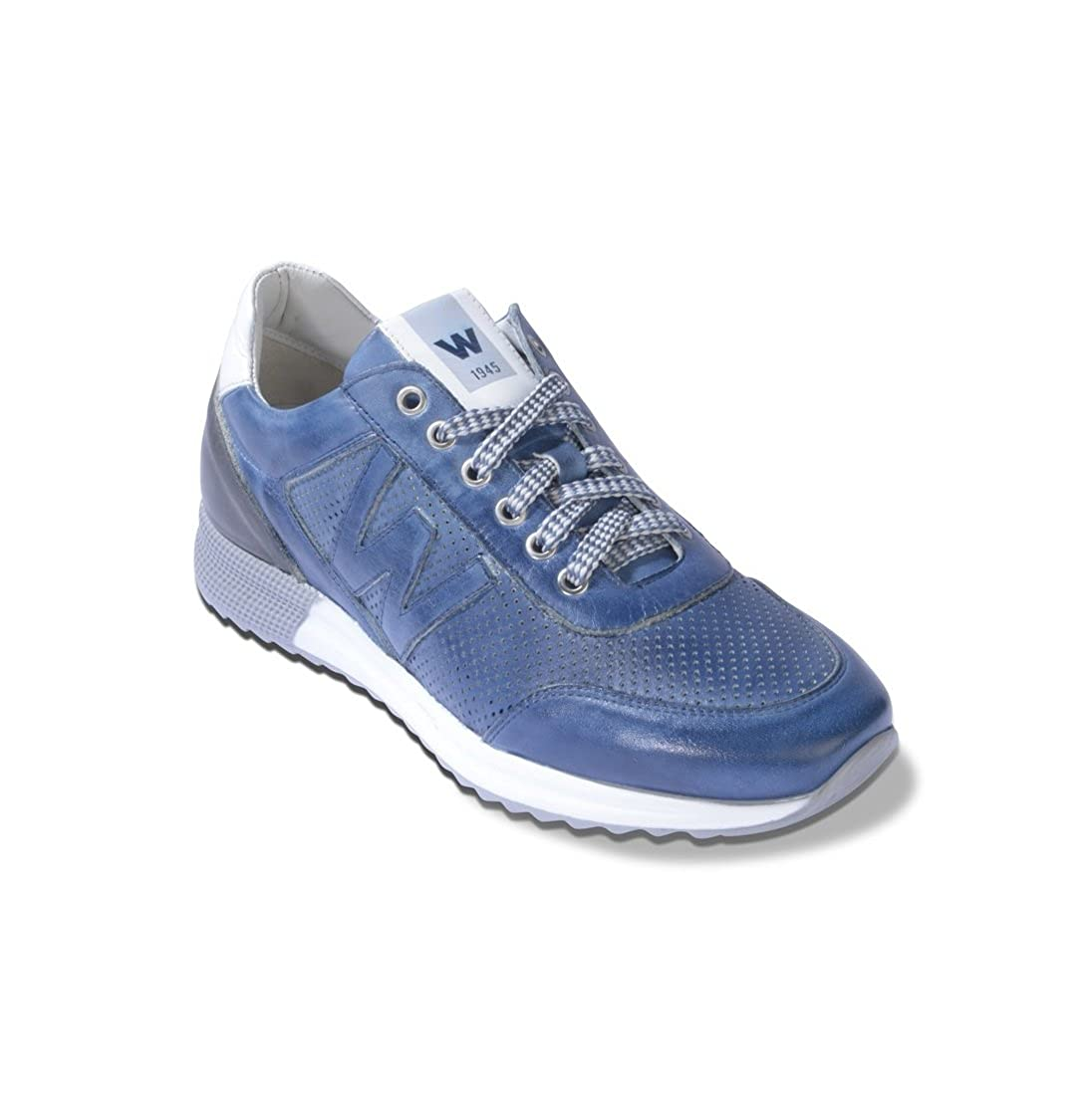 Acquista Melluso Walk Tachno Sneaker Uomo in Pelle Traforata, U16200 miglior prezzo offerta