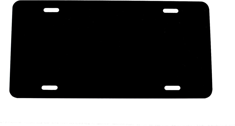 Anodized Aluminum License Plate Blanks Gauge .020 0.5mm 25 Pack-$3.49//Each - 12x6 Partsapiens Corp.