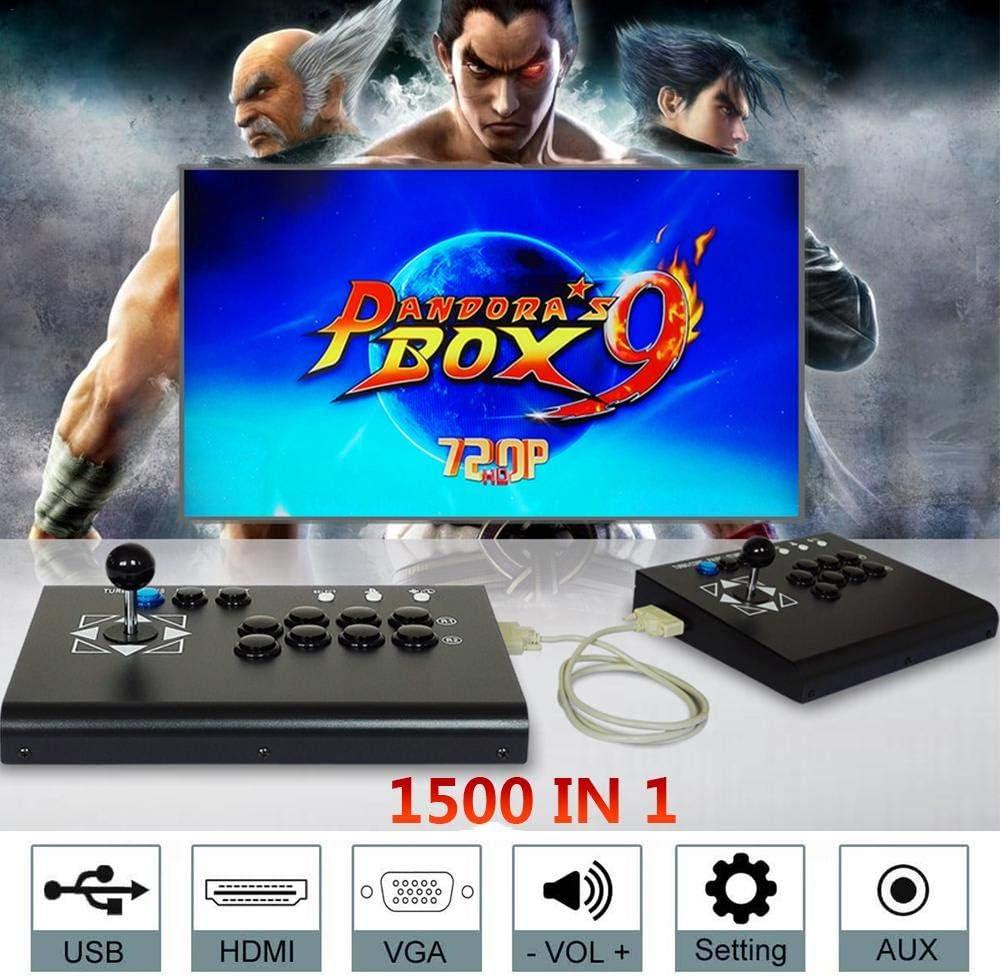 Consola de Videojuegos 1500 en 1 Caja de Pandora 9 Arcade Consola ...
