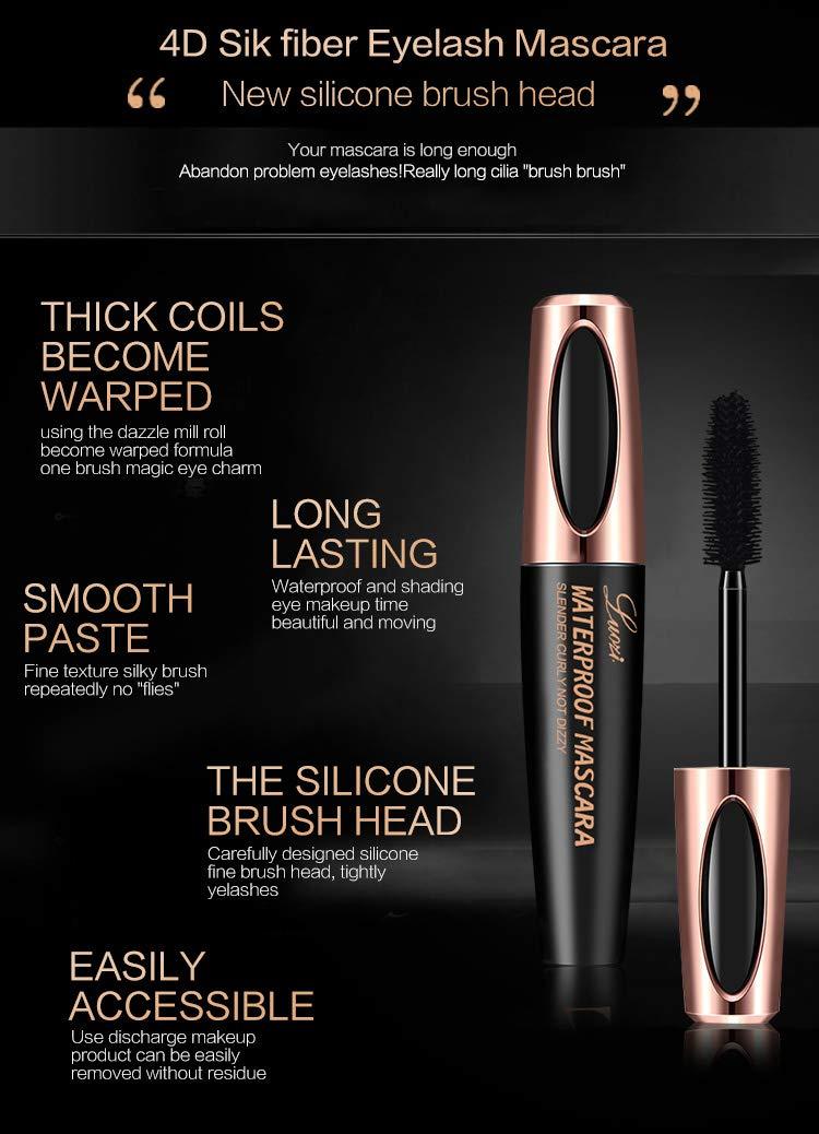 4D Silk Fiber Lash Mascara 4D Silk Mascara 4D Silk Fibre Lash Mascara Extra Long Lash Mascara...