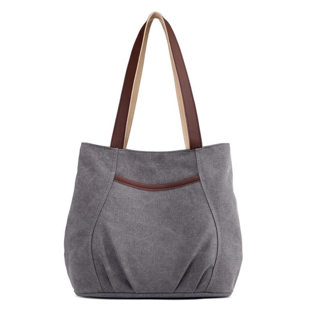 b02b7fca91828c Damen Handtasche Canvas Handtasche Fashion Damen Schultertasche  Multi-Beutel Tasche Henkeltaschen Shopper ...