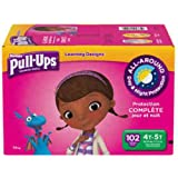 Huggies® Pull-Ups® Training Pants for Girls Day and Night Combo Pack Size: 4T-5T 102 ct
