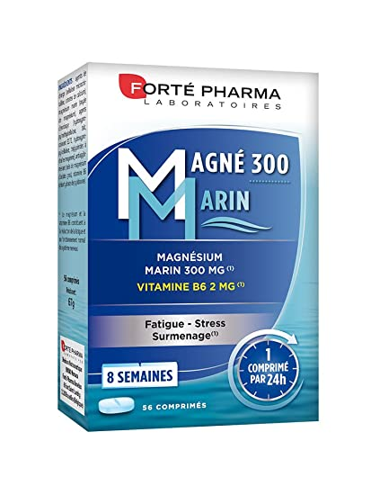 Forte Pharma Magné Marin 300 de 56 comprimés