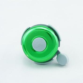 Timbre para bicicleta, 6 colores metálicos, verde: Amazon.es ...