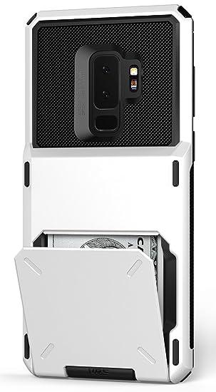 watch 9c420 08eb9 Galaxy S9 Plus Wallet Case :: VRS :: Full Body Protective Armor :: Hybrid  Card Slot Holder :: ID Credit Card Travel Wallet Samsung Galaxy S9 Plus ...