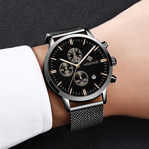 Slim Ultradünne Minimalistisches Herren Mode Classic Blau Uhren Lässige Damen Armbanduhr Wishdoit Quarzuhr Luxus Mit Design Männer SzqMpUV