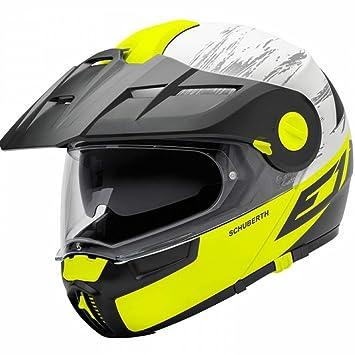Schuberth E1 Crossfire Amarillo Motocicleta Casco