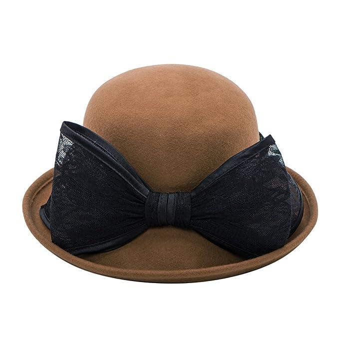 c9e83ce4928a4 Sombreros de la señora del Versión Coreana  cúpula  Sombrero de ala Ancha  Rollo-