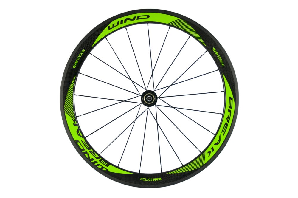 Sunrise Bike Carbon Fiber Road Wheelset Clincher Wheels 50mm Depth R13 Hub Decal Bicycle Rims by SunRise (Image #4)