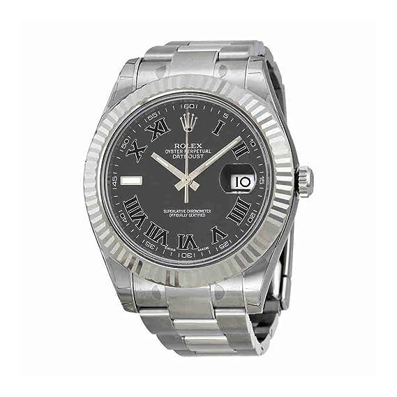 ROLEX RELOJ DE HOMBRE AUTOMÁTICO 41MM CORREA Y CAJA DE ACERO M116334-0002: Amazon.es: Relojes