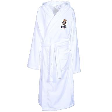 083c713136 Moschino Men Pure 100% Cotton Luxury Bath Robes Dressing Gowns With Belts  Pockets Nightwear Loungewear