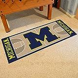 Fanmats 18506 University of Michigan Basketball Runner
