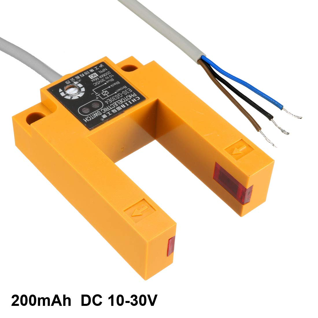 Dc 3 Wire 6 36v Pnp Ir Photoelectric Sensor Switch 30cm Proximity Wiring Diagram Further E18 B03p1 Home Improvement