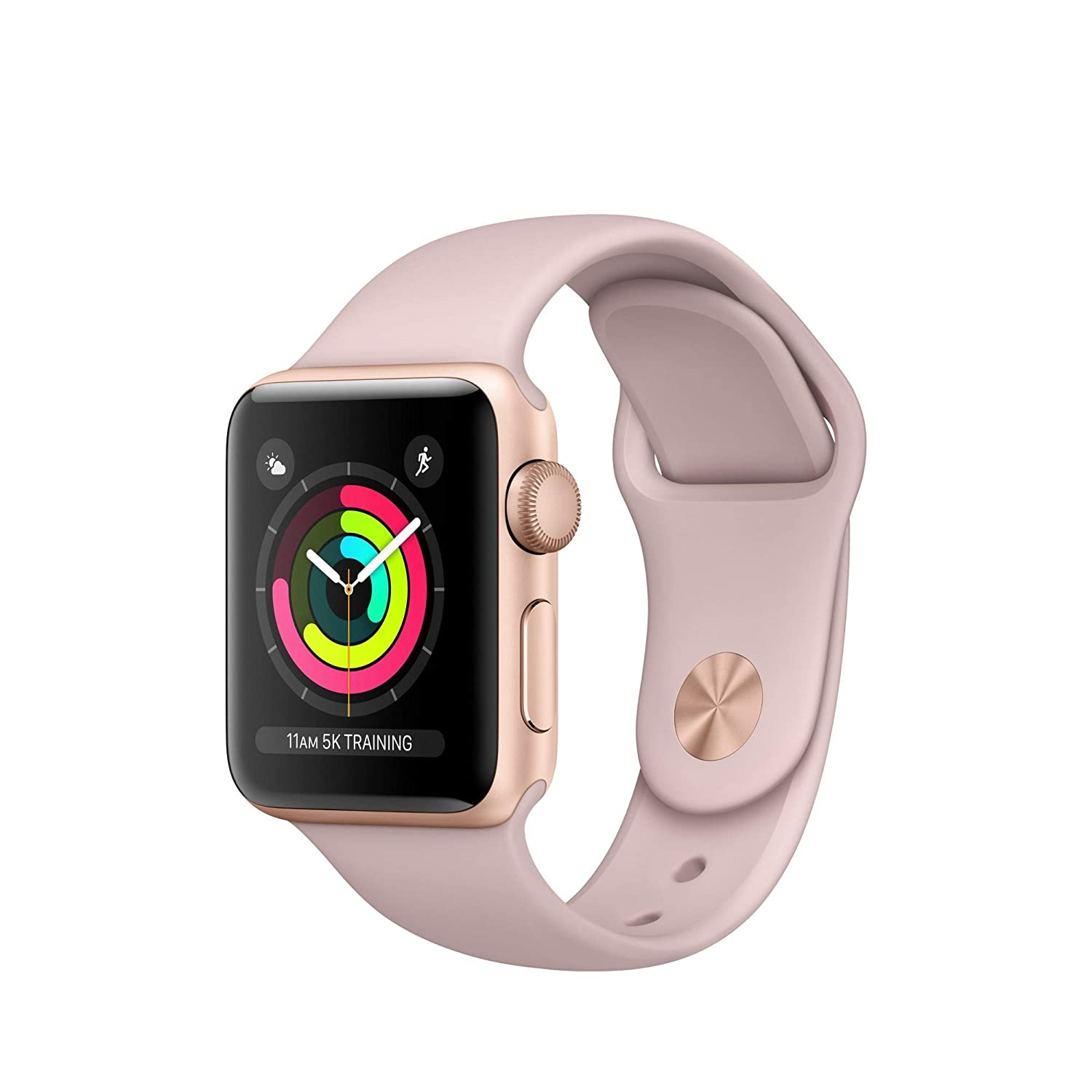 Apple Watch Series 3 Reloj Inteligente Oro OLED GPS (satélite): Amazon.es: Electrónica