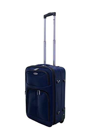 Amazon.com | Dumont 4-Piece Expandable Lightweight Rolling Luggage Set-Navy | Luggage Sets