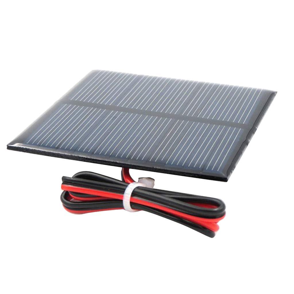 Sharplace Mini Chargeur Solaire De Batterie De Silicium Polycristallin De Panneau Solaire - Un 4V 55x55mm